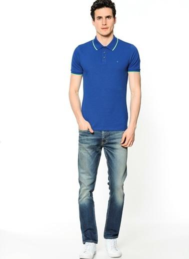 Polo Yaka Tişört-Calvin Klein